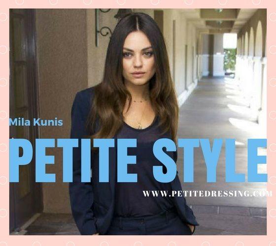 petite celebrity style
