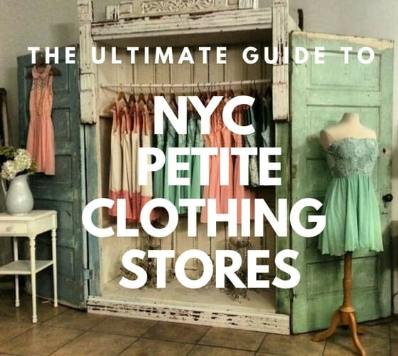 Where to shop for petite clothing in New York
