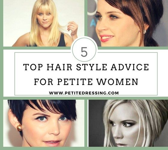 hairstyles for petite women