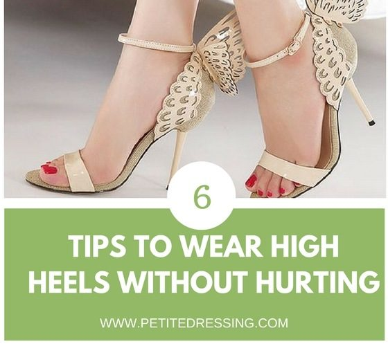 6 Tips on how to wear comfortable heels all day long