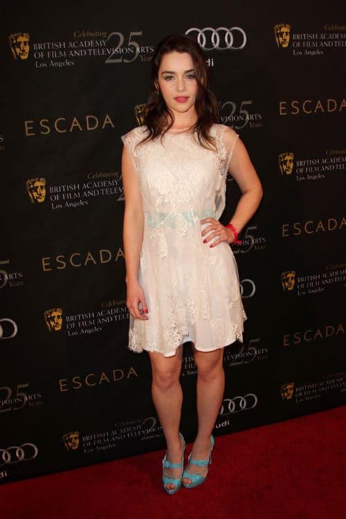 Emilia Clarke fashion style