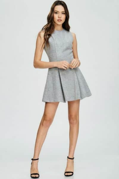 Petite Wool Blend Dress