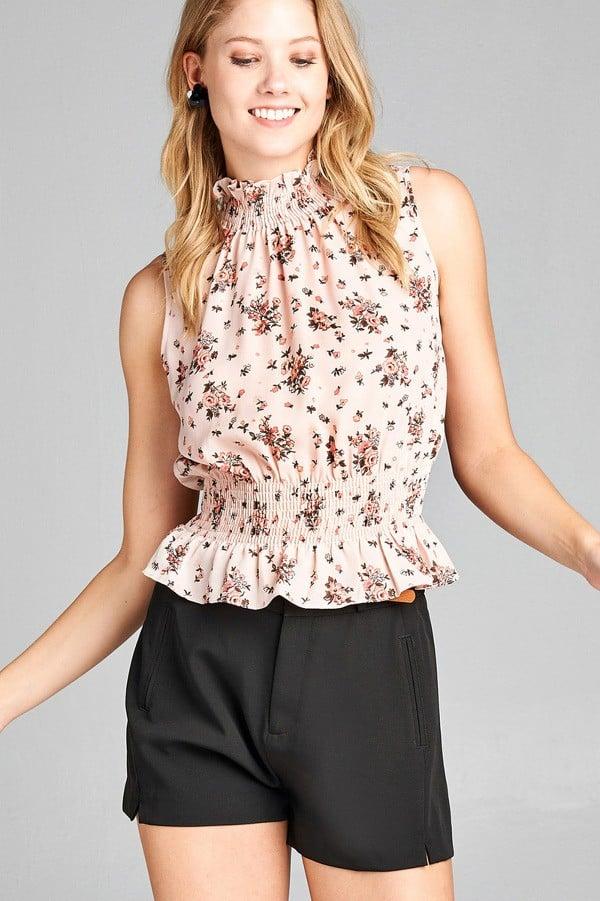 Petite Floral Top $79 (Petite Dressing)