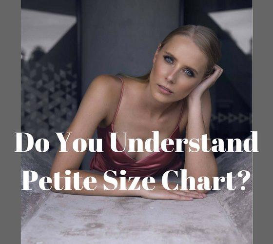 petite size chart petite dressing