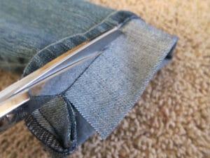 petite dressing how to hem jeans