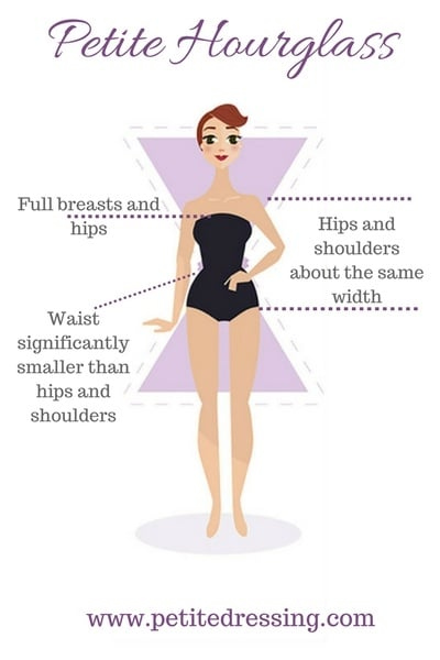 Hourglass Figure Stying Tips: How to Dress if you are Petite