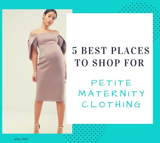 5 Best Places To Shop For Petite Maternity Dresses