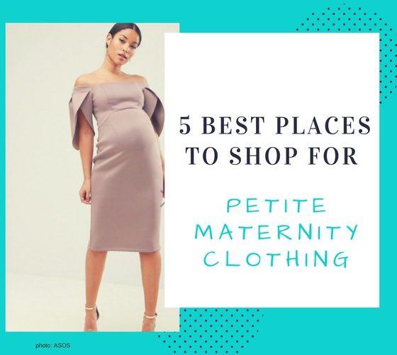 petite maternity dresses