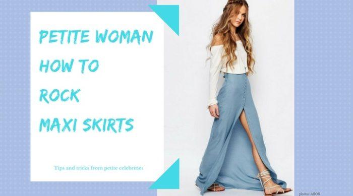 petite maxi skirts