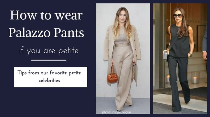 A Short Girl S Guide To How To Wear Petite Palazzo Pants
