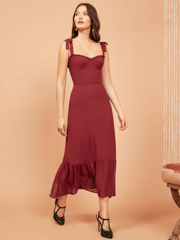 maxi dress for petite women