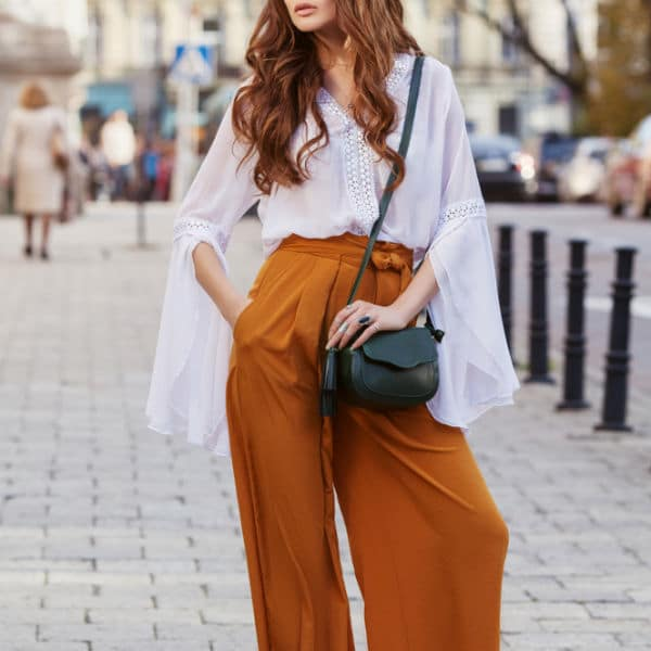 How to Wear Petite Palazzo Pants if you are Short
