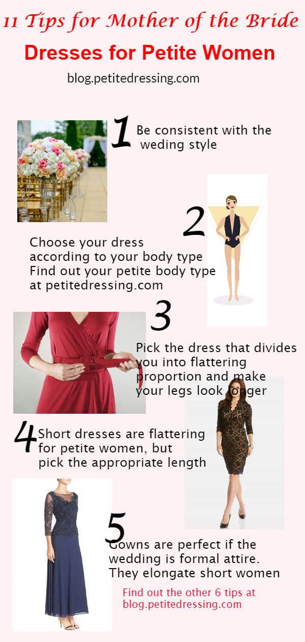 mother of the bride dresses for petites