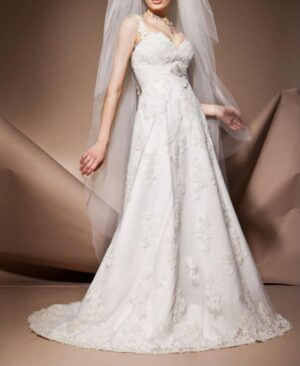 wedding gown for petite brides