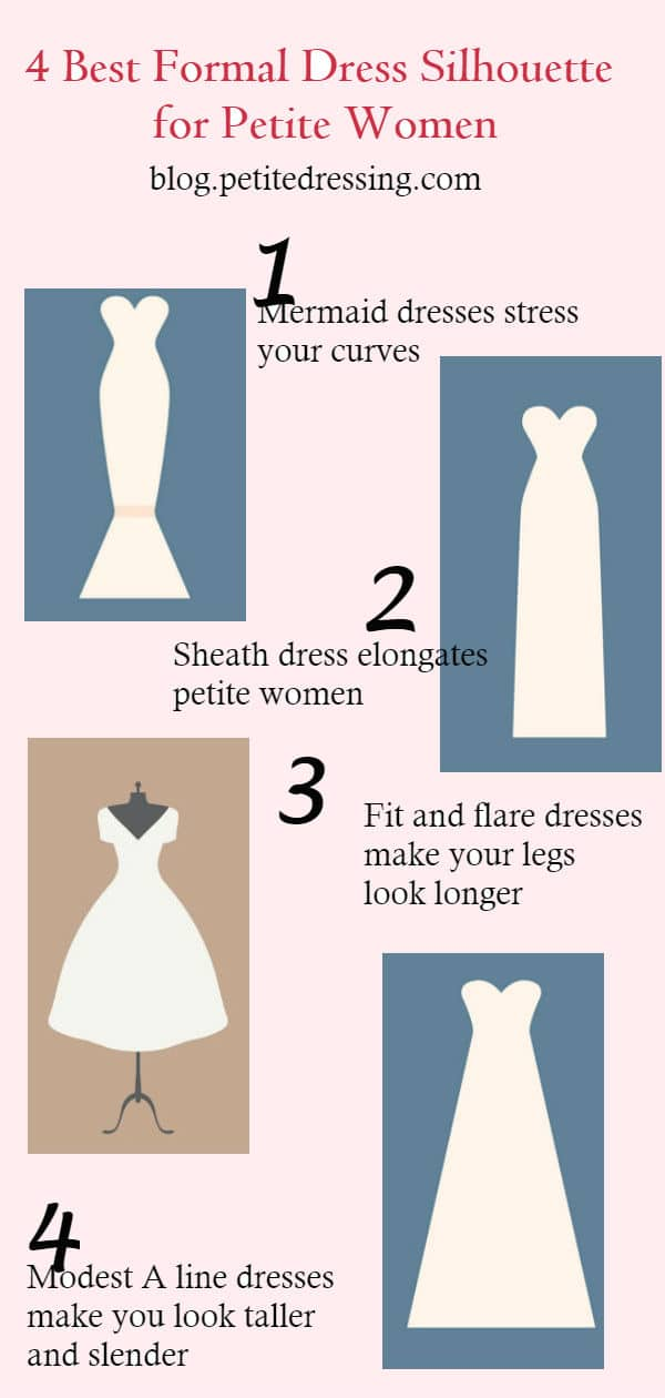 best formal dresses for petite women