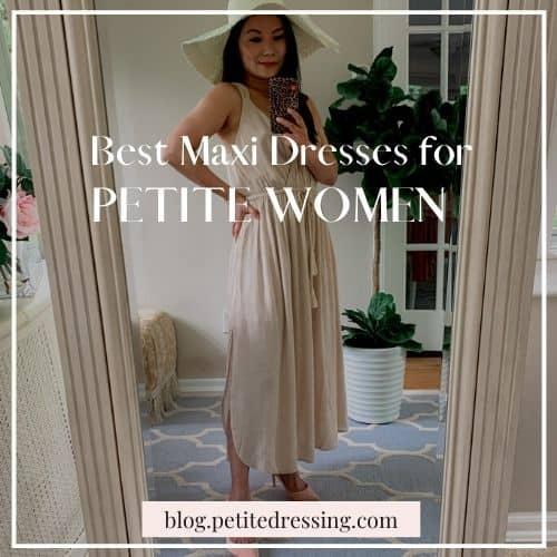 best petite maxi dresses