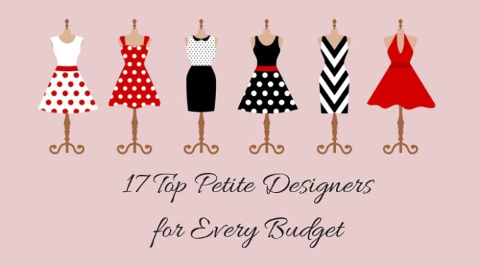 best petite designers