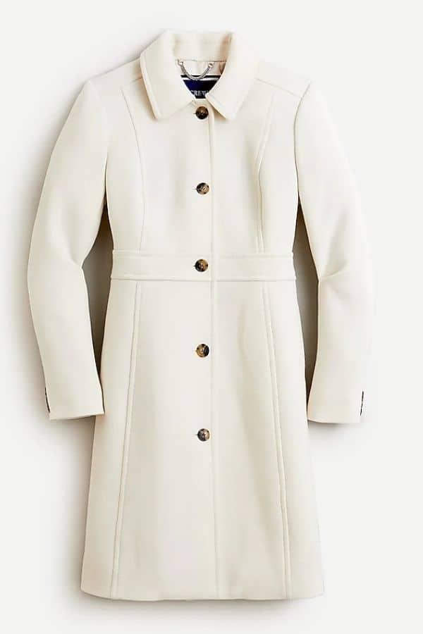 jcrew classic wool petite coat