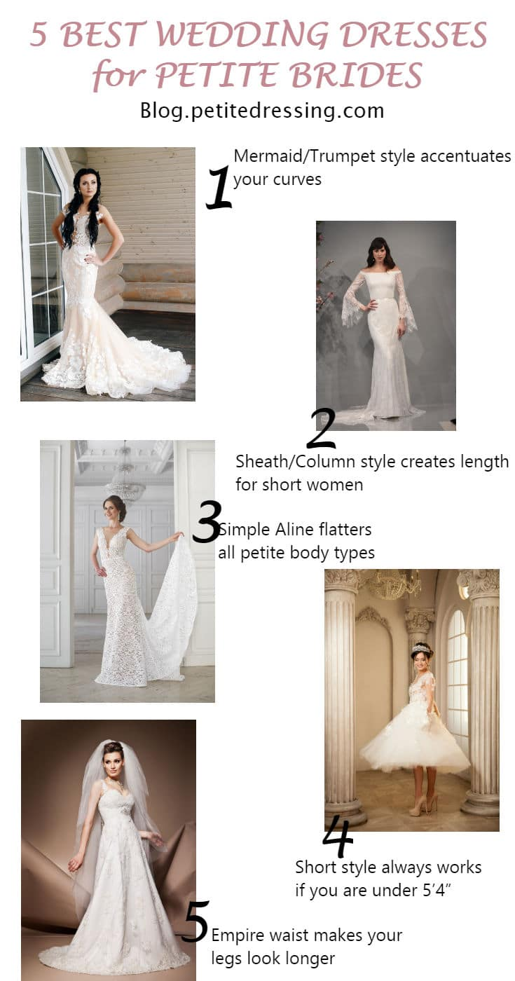 d5d46c9914e8 Top 5 Must Have Wedding Dresses for Petite Brides