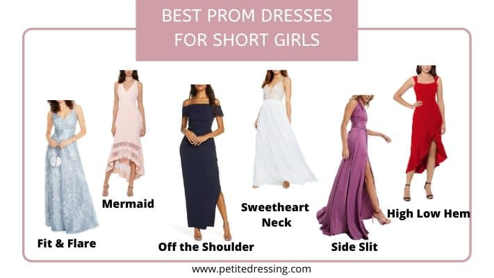 best prom dresses for short girls