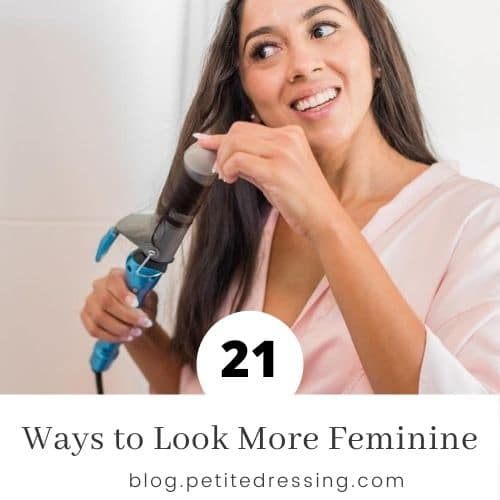 how to look more feminine
