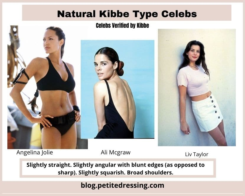 natural kibbe body type features