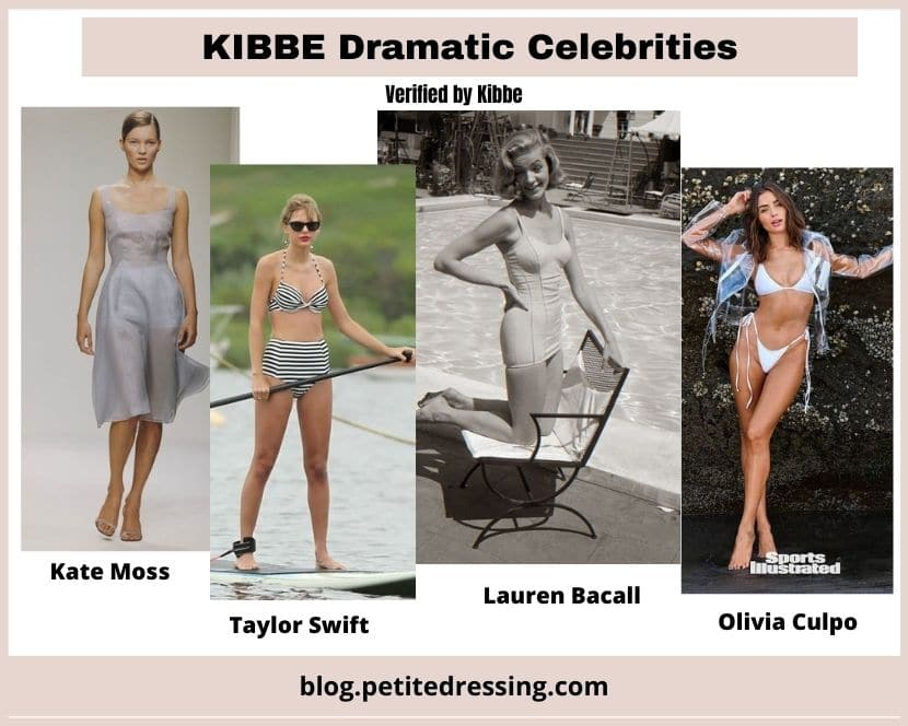 what is kibbe dramatic body type