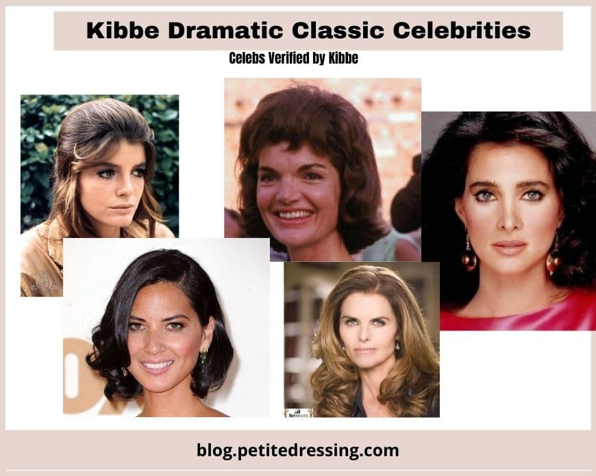 what is kibbe dramatic classic body type