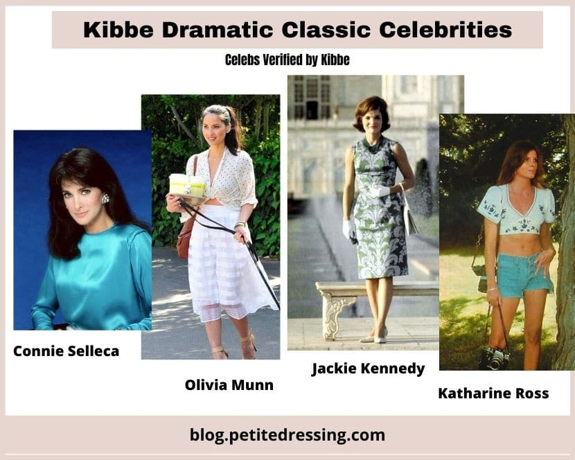 kibbe verified dramatic classic celeb list