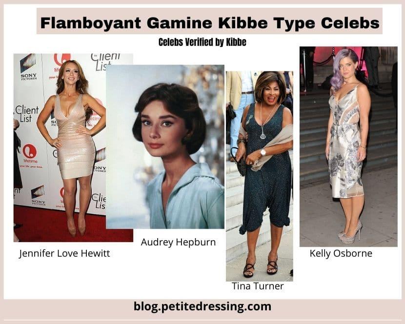 kibbe verified flamboyant gamine type celebrities