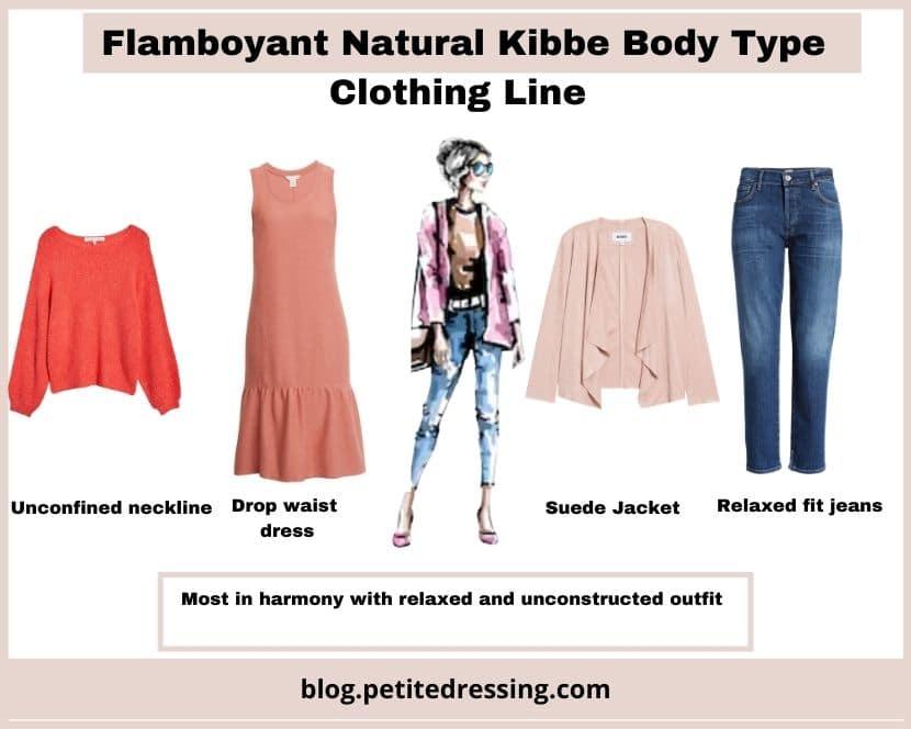 kibbe flamboyant natural clothing