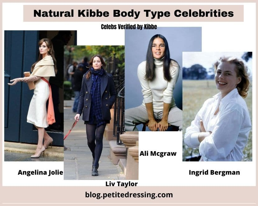 kibbe verified natural body type celebrities
