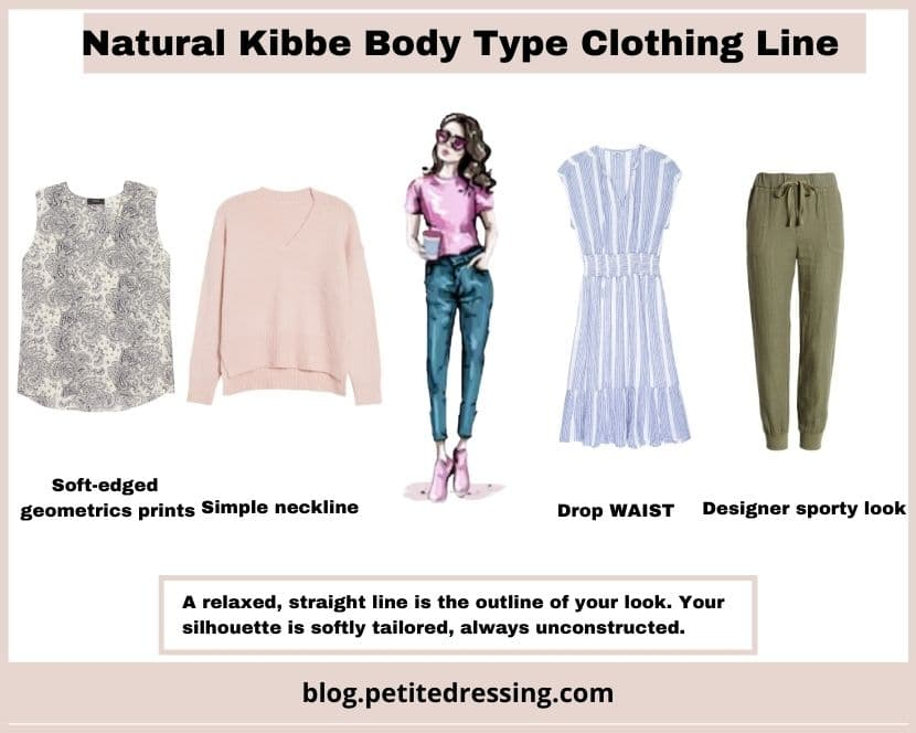 kibbe natural body type clothing