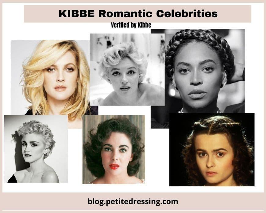 kibbe romantic celebrities