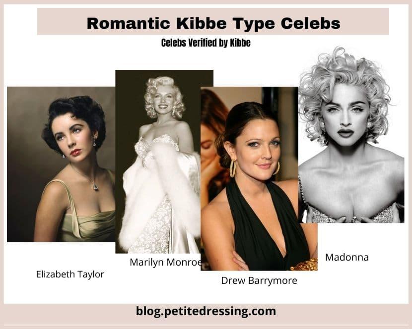 kibbe romantic body type celebs