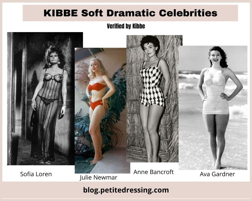 what is soft dramatic kibbe body type