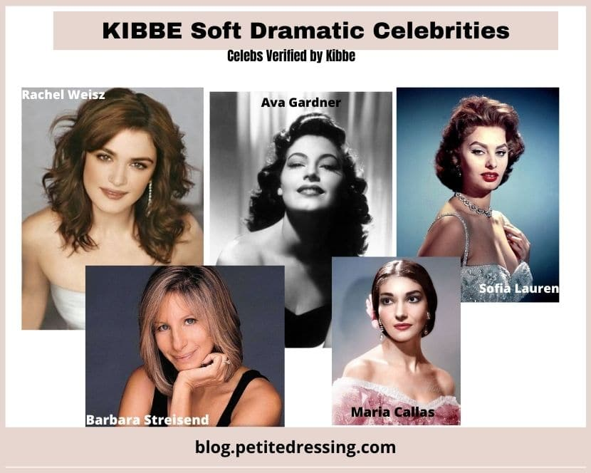 what is kibbe soft dramatic body type