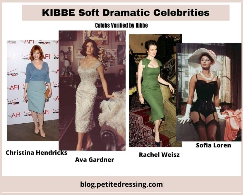kibbe verified soft dramatic celebrities