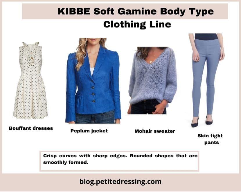 kibbe soft gamine clothing