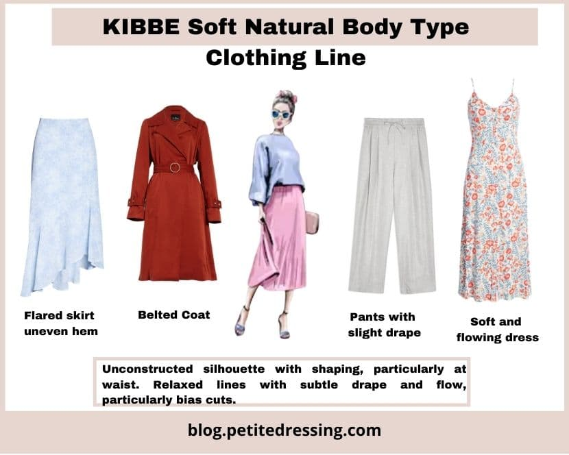 kibbe soft natural body type clothing