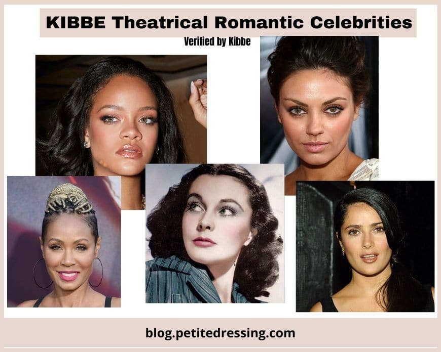 kibbe theatrical romantic body type celebs