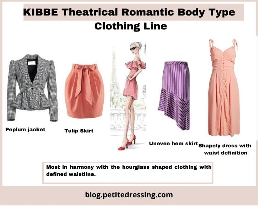 kibbe theatrical romantic clothing