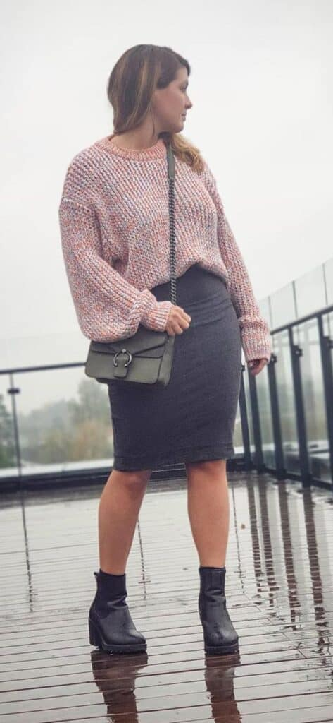 ankle boots outfit ideas