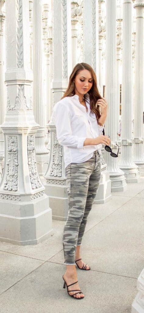 outfits with camo pants