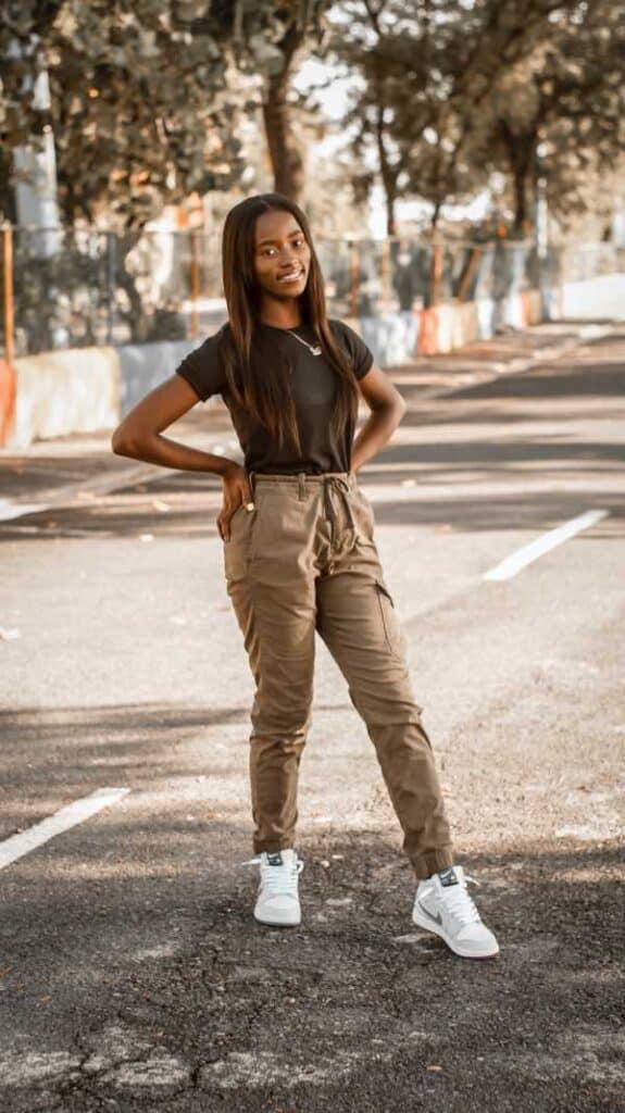 best tops for khakis pants