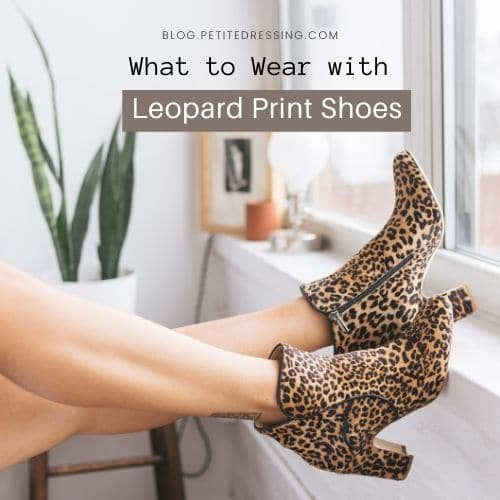 leopard print shoes outfit