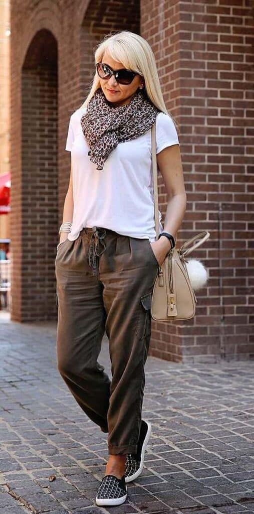 styling olive green pants