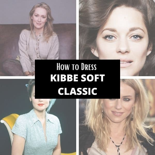 How to dress kibbe soft classic