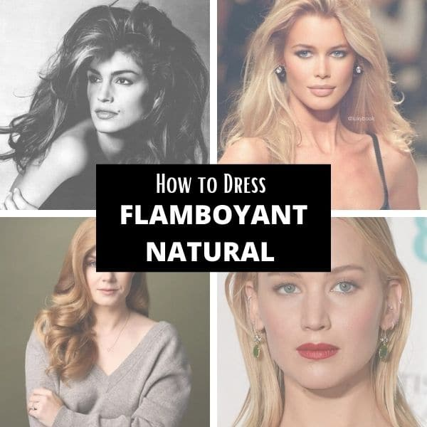how to dress kibbe flamboyant natural