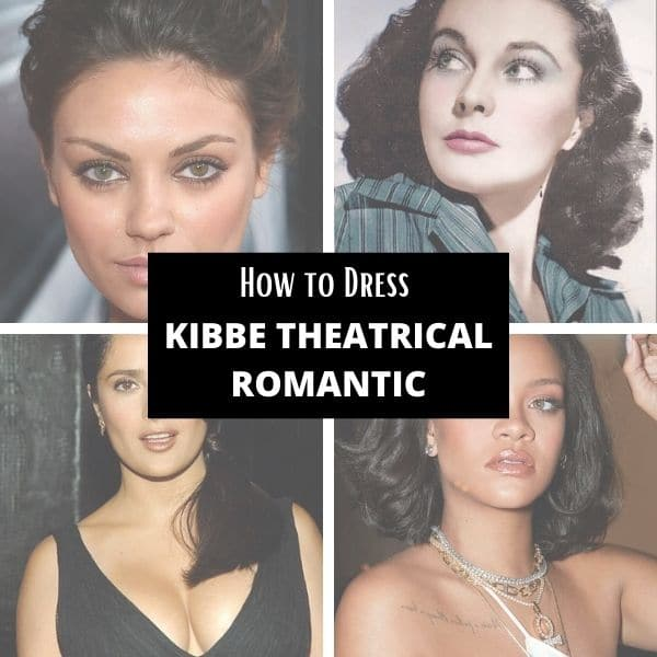 how to style Kibbe theatrical romantic body type